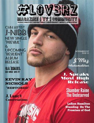 #LOV3RZ Independent Magazine Issue #22 November 2017