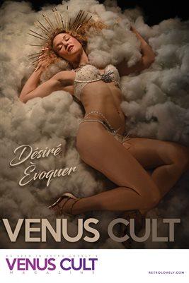 Venus Cult No.33 – Désiré Èvoquer Cover Poster