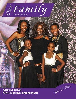 Volume 5 Issue 4 - Sheila King 50th Birthday