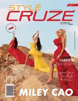 OCTOBER 2021 Issue (Vol: 153) | STYLÉCRUZE Magazine