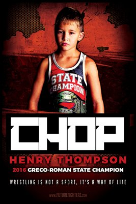 Henry Thompson Wrestling Poster