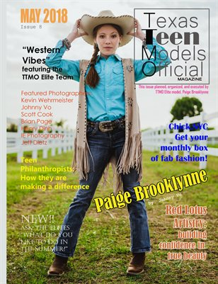 Texas Teen Models Official Magazine May 2018