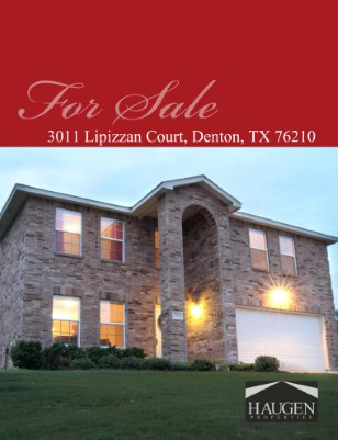 Haugen Properties - 3011 Lipizzan Court, Denton, Texas 76210