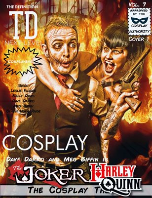 TDM Cosplay Vol.7 Dave Darko & Meg Biffin Cover1