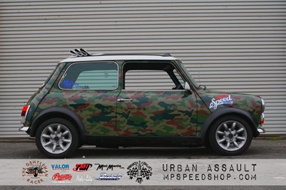MP Speed Shop SEMA Mini Poster