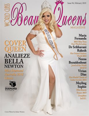 World Class Beauty Queens Magazine Issue 94 with Analieze Bella Newton