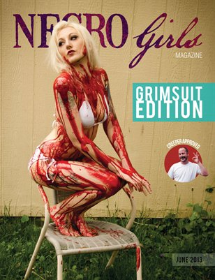 Necro Girls Magazine Grimsuit Edition (June 2013)