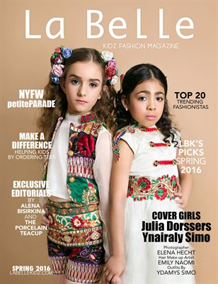 La Belle Kidz Fashion Magazine - Spring 2016