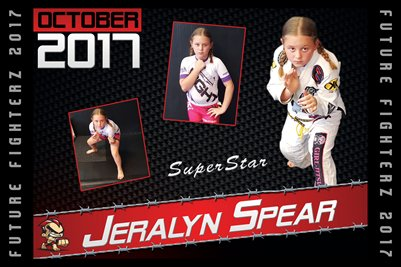 Jeralyn Spear Cal Poster 2017