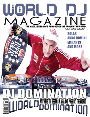 World DJ Magazine Issue 1