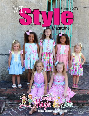 Wee Style Magazine Summer 2019 Issue