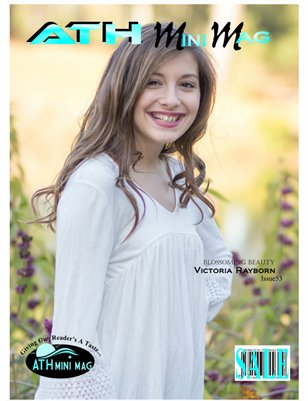Issue #53 Victoria Rayborn. Blossoming Beauty.