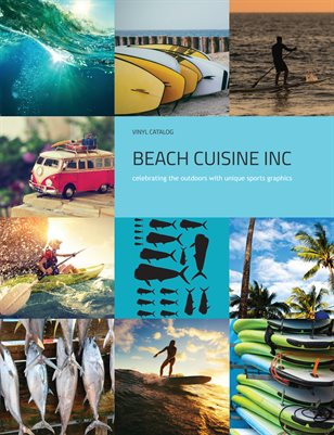 Beach Cuisine Inc. Vinyl Decal Catalog