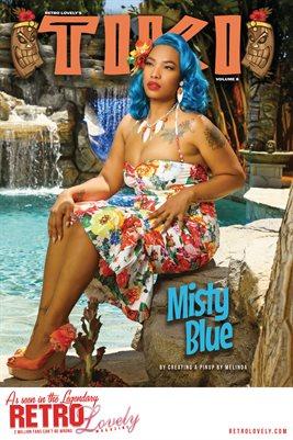 TIKI Volume 8 - Misty Blue Cover Poster