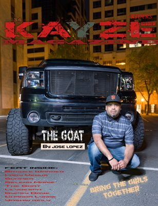 Kayze Magazine issue 34 - The GOAT - Riders