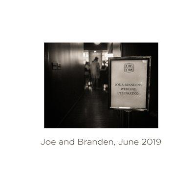 Joe and Branden