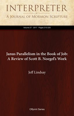 Janus Parallelism in the Book of Job: A Review of Scott B. Noegel's Work