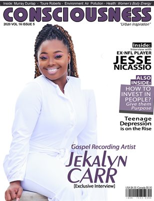 Jekalyn Carr Featured on Cover of Consciousness Magazine