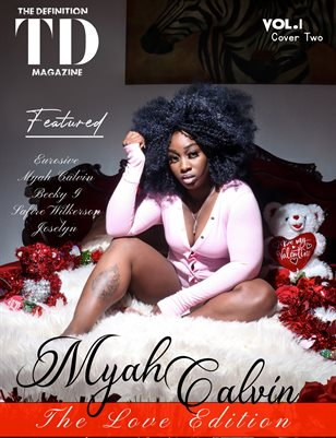 The Definition of Love: Myah Calvin Vol.1 Cover 2