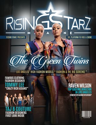 2019 Rising Starz Summer Issue Green Twins Cover