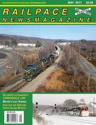 MAY 2017 Railpace Newsmagazine