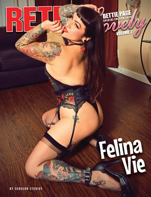 Bettie Page Special Edition 2020 Volume 2 – Felina Vie Cover