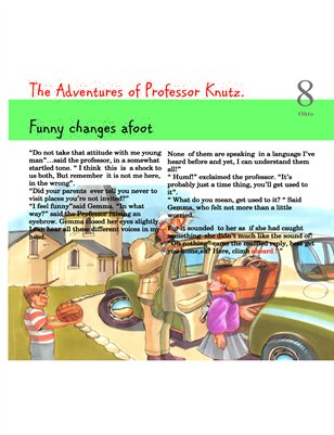 Professor Knutz and the tale of the mud dragon