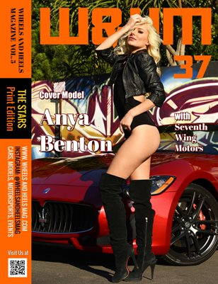 Wheels and Heels Magazine Issue #37 Anya Benton