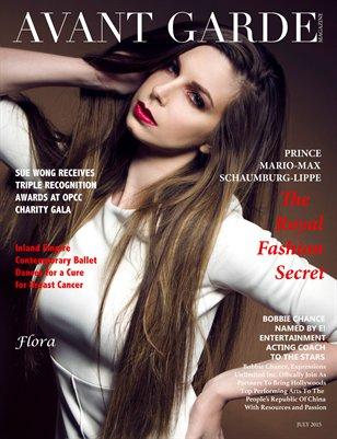 AVANT GARDE Magazine July Issue 2015