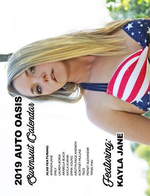 Auto Oasis Swimsuit Calendar Featuring Kayla