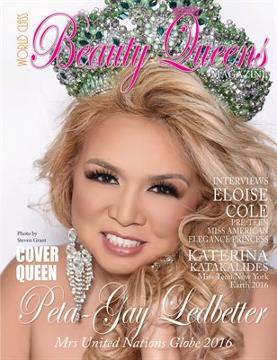World Class Beauty Queens Magazine: Issue 2 with Peta Gay