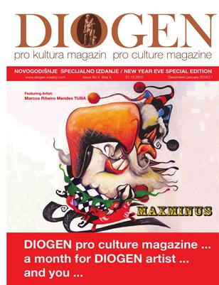 DIOGEN magazin special NEW YEARS EVE No.4. Decembar ART 2010