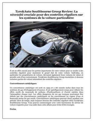 La nécessité cruciale pour des contrôles réguliers sur les systèmes de la voiture particulière