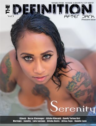 The Definition: After Dark Serenity Cover- Vol.3