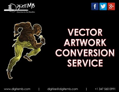 Vector Artwork Conversion Service