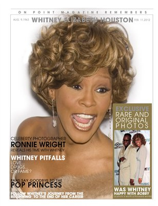 WHITNEY HOUSTON TRIBUTE ISSUE! PRINT ISSUE COLLECTOR EDITION