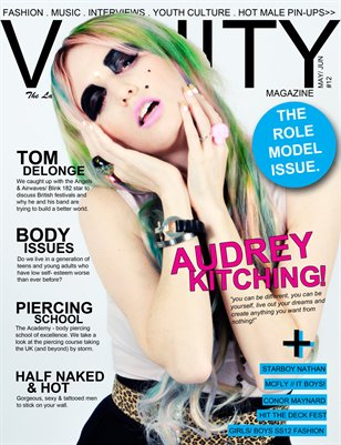Vanity magazine - The Role Model Issue