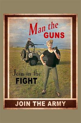 Man the Guns 1 Poster