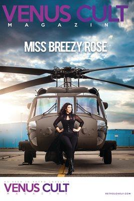 Miss Breezy Rose Venus Cult Poster