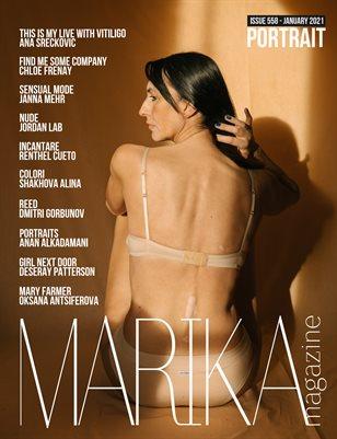 MARIKA MAGAZINE PORTRAIT (ISSUE 558 - January)