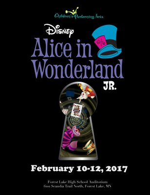 2017 Children's Performing Arts - Alice in Wonderland Jr.