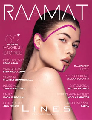 RAAMAT Magazine April 2021 COLORS Special Edition Issue 2