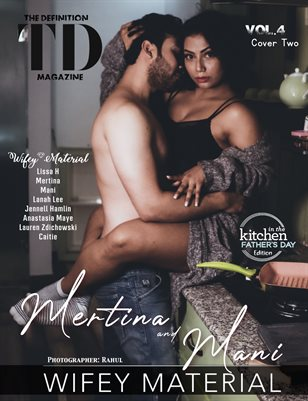 The Definition: Mertina/Mani Wifey Material vol4 June 2021 cover 2