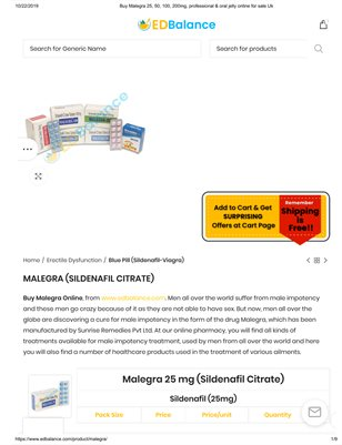 Malegra Tablets For Men's Health...