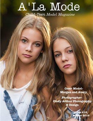 Issue 18 A'La Mode Child-Teen Model Magazine