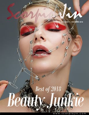 SCORPIO JIN MAGAZINE | BEST OF 2018 | BEAUTY JUNKIE