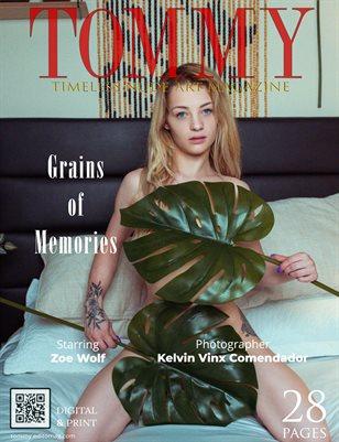 Zoe Wolf - Grains of Memories - Kelvin Vinx Comendador