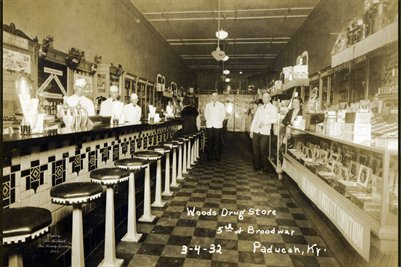 Woods Drug Store, Paducah, Kentucky