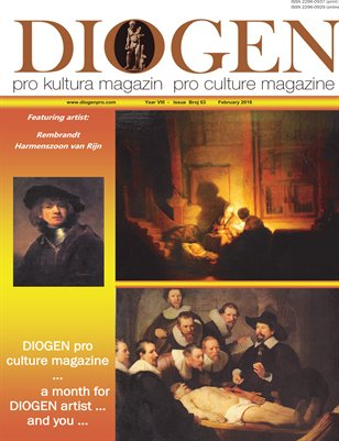 DIOGEN pro art magazine No 63... February 2016