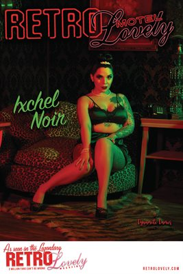 MOTEL 2021 Special Edition Vol. 2 – Ixchel Noir Cover Poster